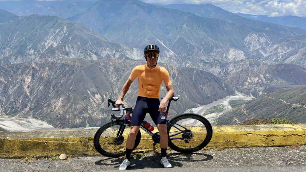 Rigoberto Urán tiempo sin montar bicicleta