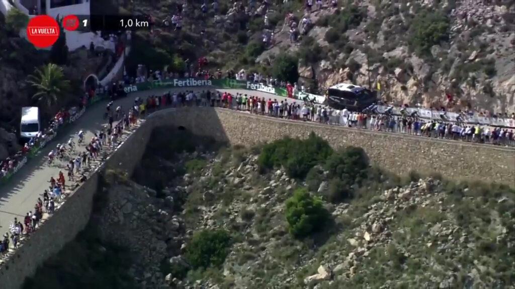 kilómetro final etapa 6 Vuelta 2021