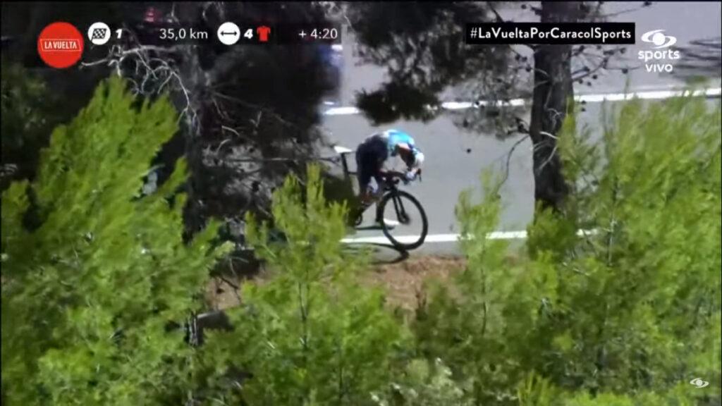 Alejandro Valverde llanto