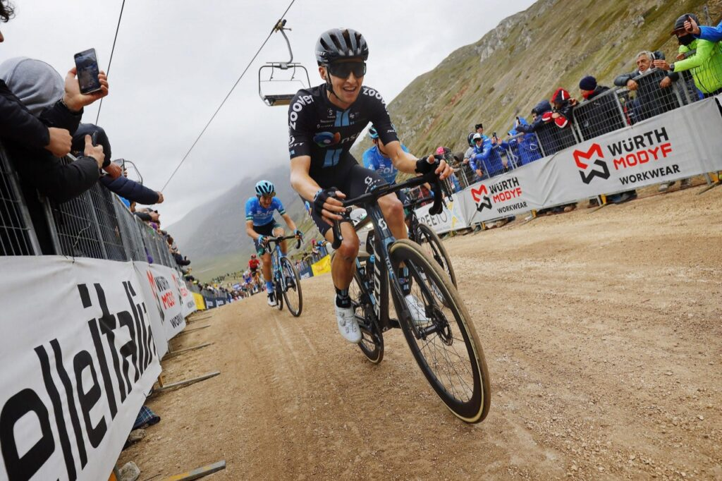 Jai Hindley no está en forma Vuelta España 2021 DSM