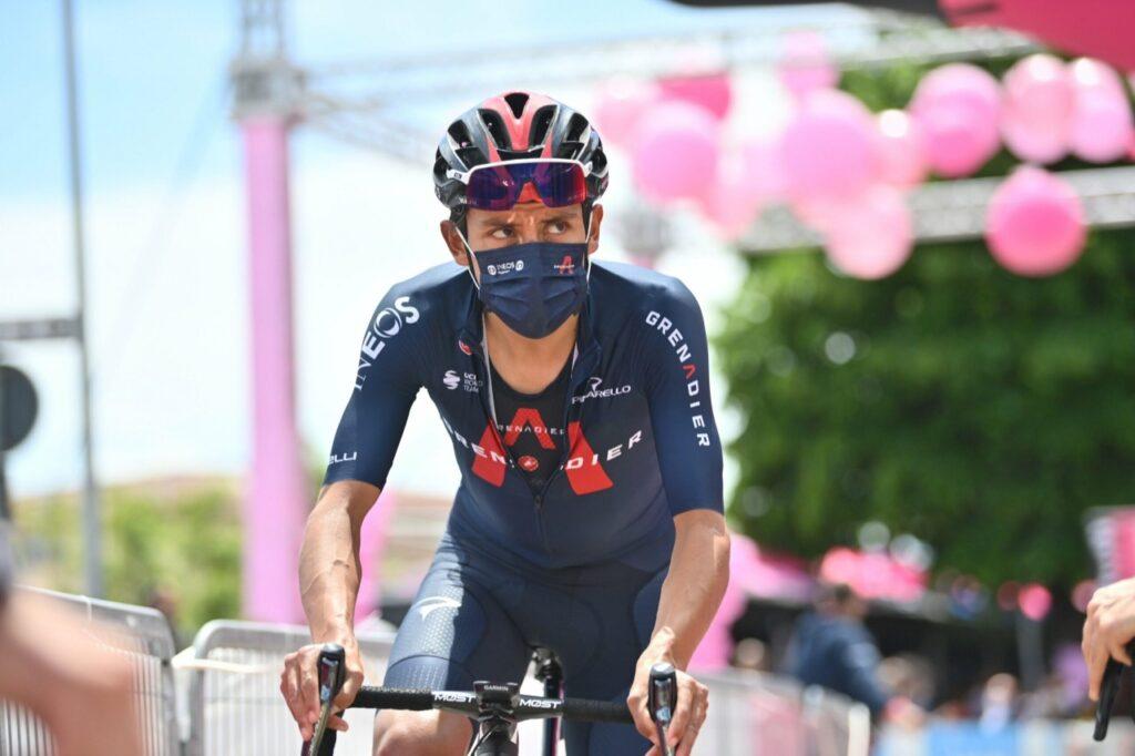 Egan Bernal dato Eddie Merckx Vuelta España 2021