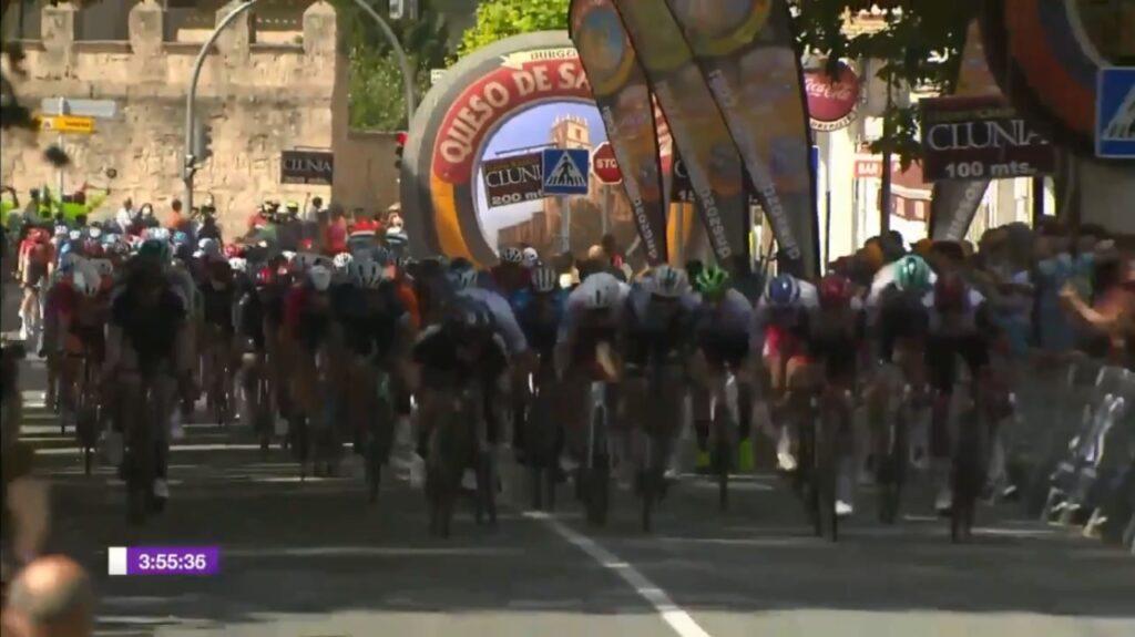 Sebastián Molano así se dio su victoria etapa 2 Vuelta a Burgos 2021