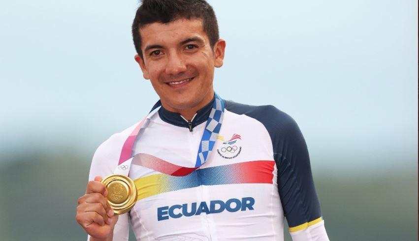 Richard Carapaz habla papel Ineos Vuelta España 2021