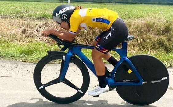 Nelson Soto campeón panamericano de Ruta Santo Domingo 2021