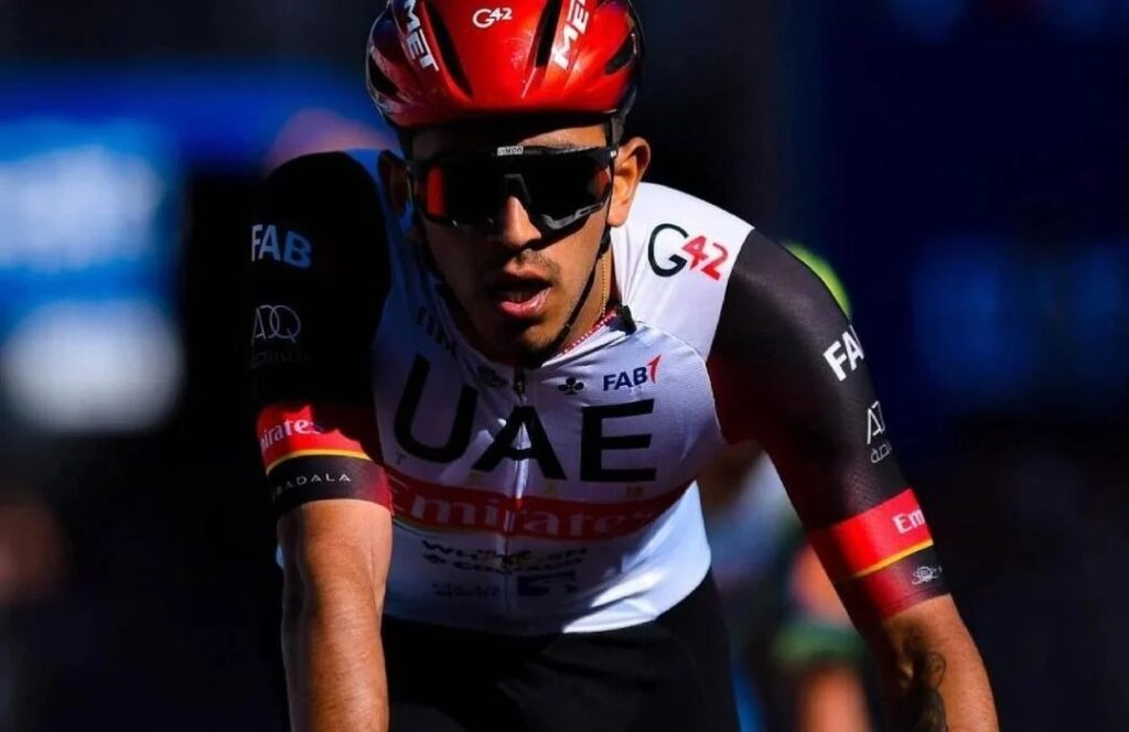 Sebastián Molano ser 4to etapa 5 Vuelta España 2021
