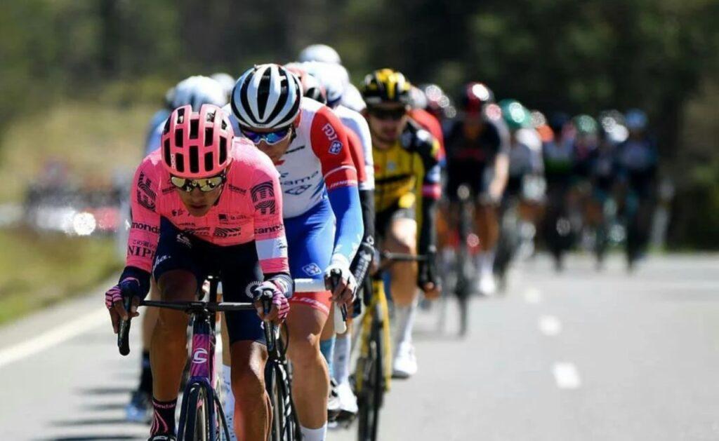 Diego Camargo disfrutando oportunidad Vuelta España 2021