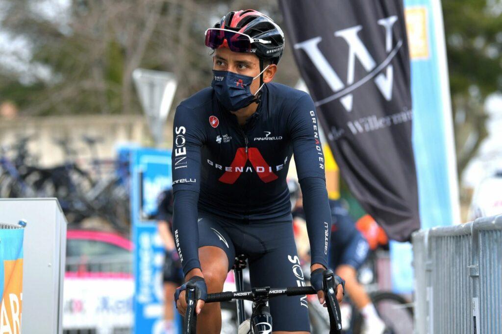 Egan Bernal se refiere abandono Valverde Vuelta 2021