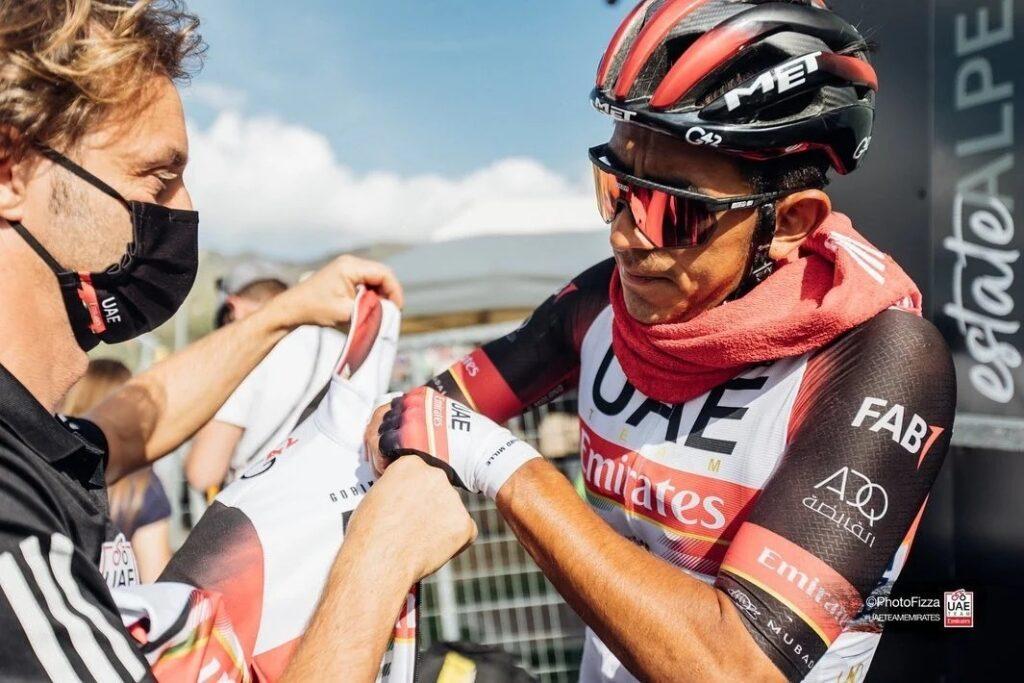 Sebastián Molano motivo multa desclasificación etapa 8 Vuelta 2021