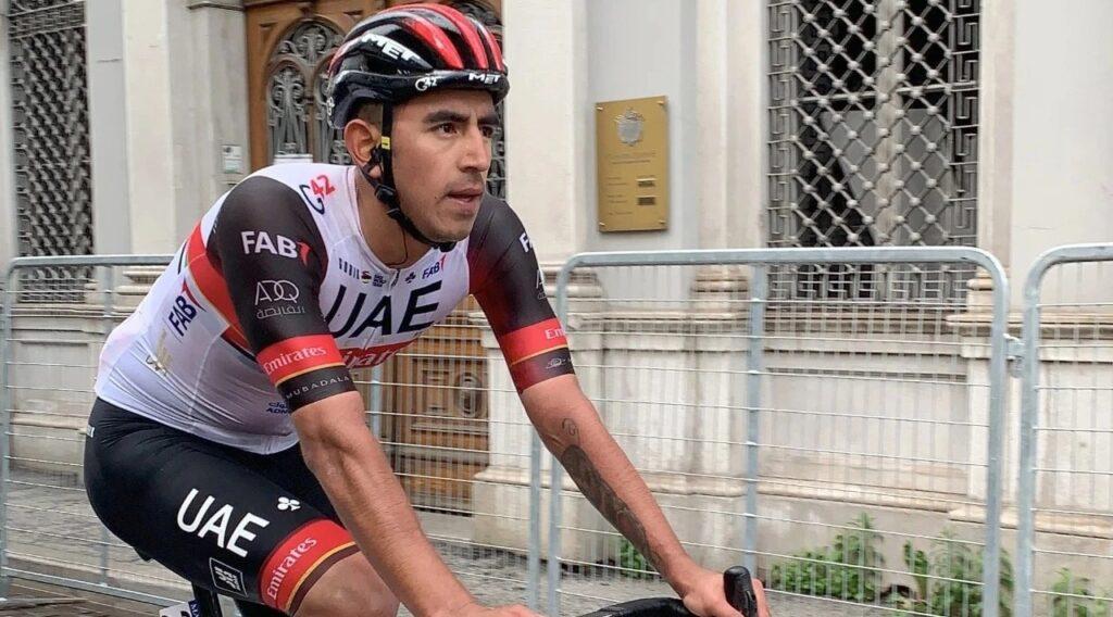 Sebastián Molano abandona Vuelta España 2021 caída