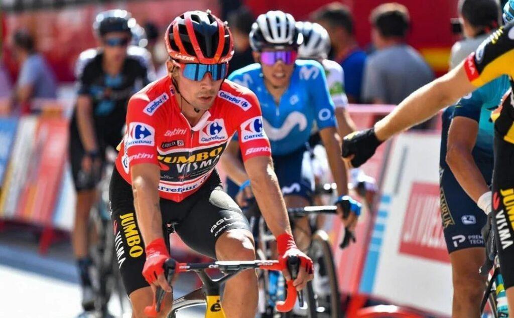 Roglic así son las carreras etapa 10 Vuelta 2021