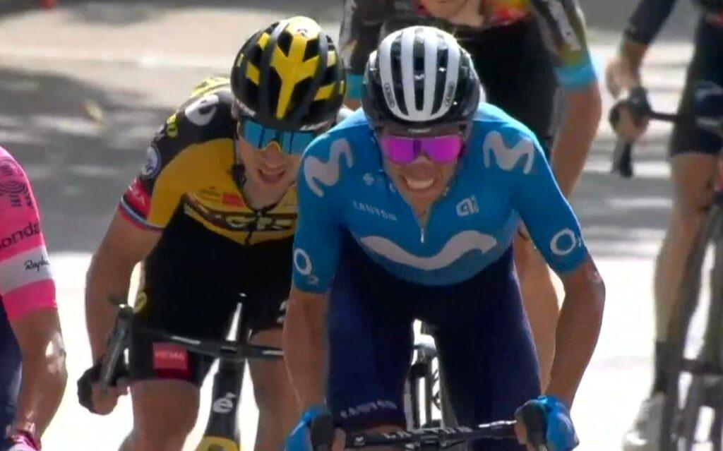 Roglic Enric Mas está fuerte etapa 11 Vuelta 2021