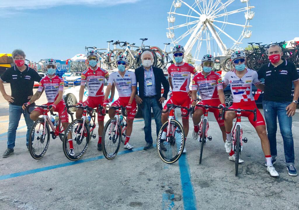 Vuelta a Antioquia 2021 Androni contrata campeón