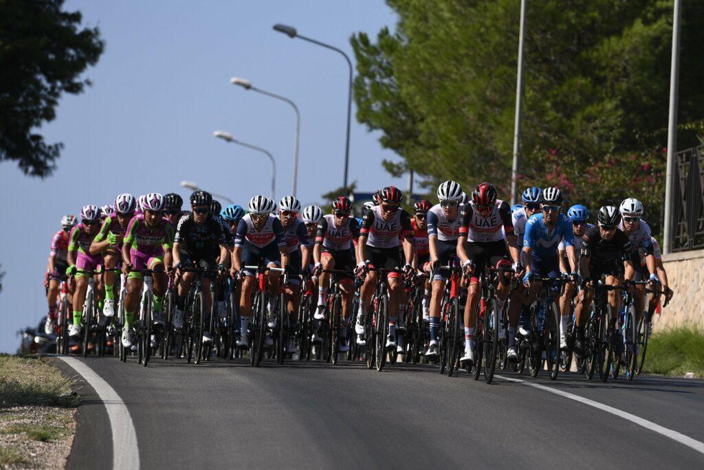 Giro de Sicilia etapa 2 el pelotón
