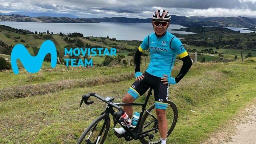 lópez con el Movistar