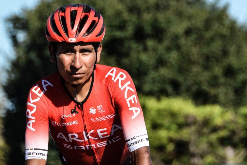 Nairo Quintana con el Arkea