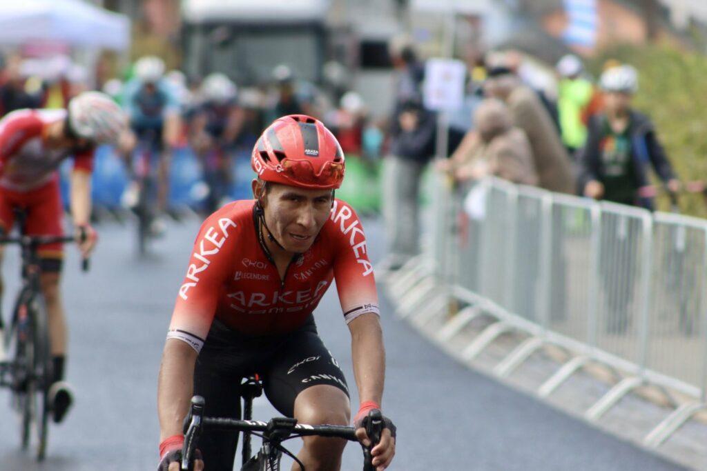 Nairo Quintana post etapa Luxemburgo