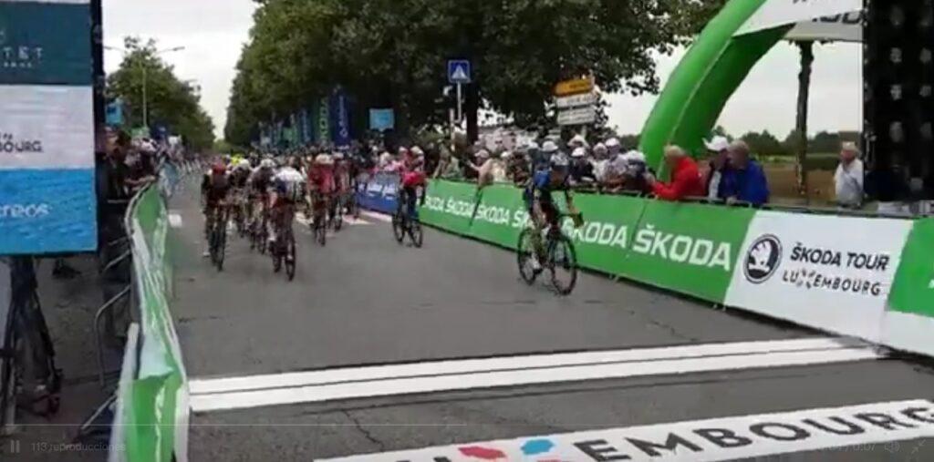 Nairo Quintana sprint Luxemburgo