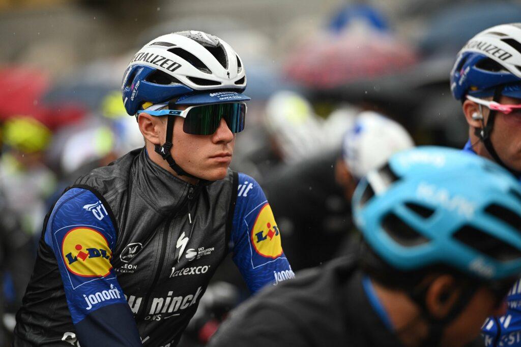 Evenepoel en el Giro