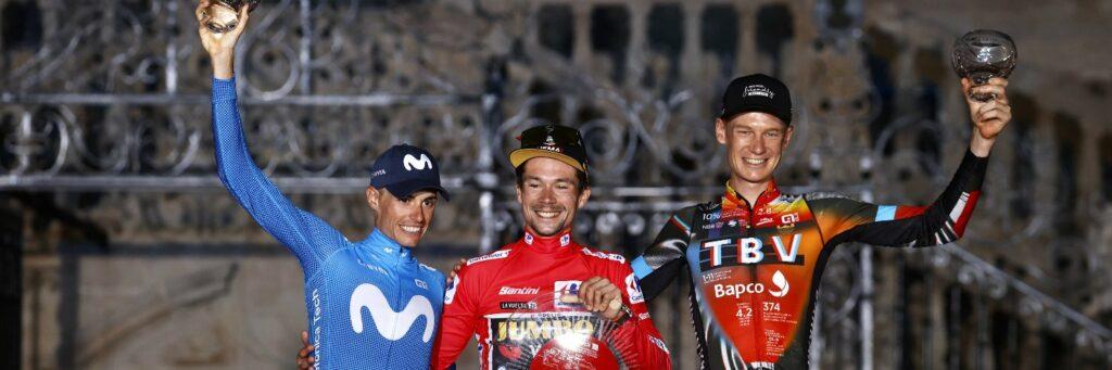 Pirmoz Roglic podio Vuelta a España 2021
