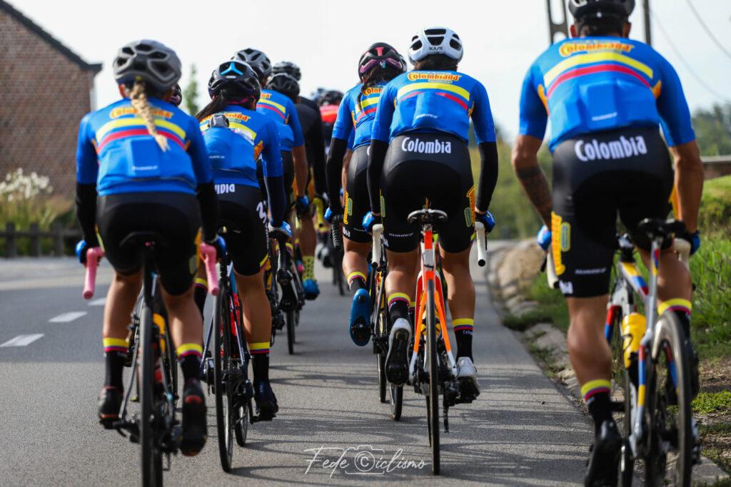 Mundial de Ciclismo 2021 Colombianas junior femenina