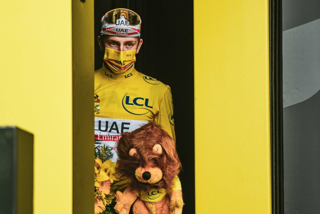 Pogacar campeón del Tour de Francia