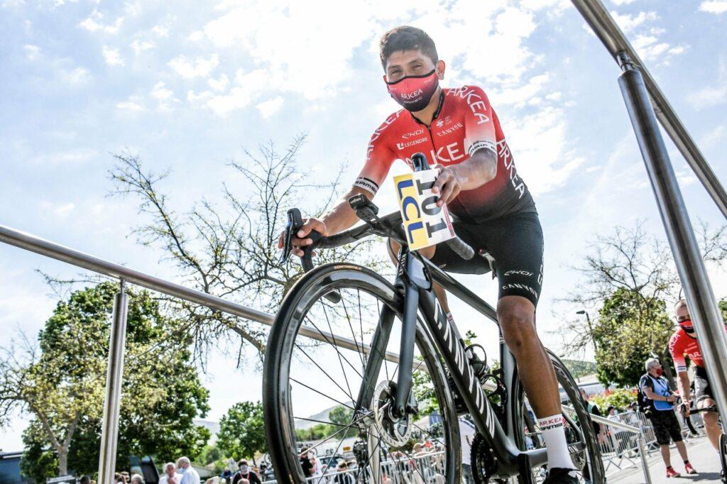 Nairo Quintana video recuperación etapa 2 Tour Luxemburgo 2021