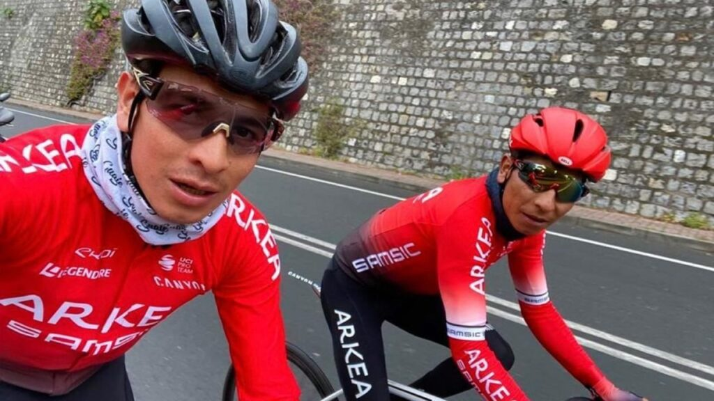 Dayer Quintana habla de Nairo previo crono Tour Luxemburgo 2021