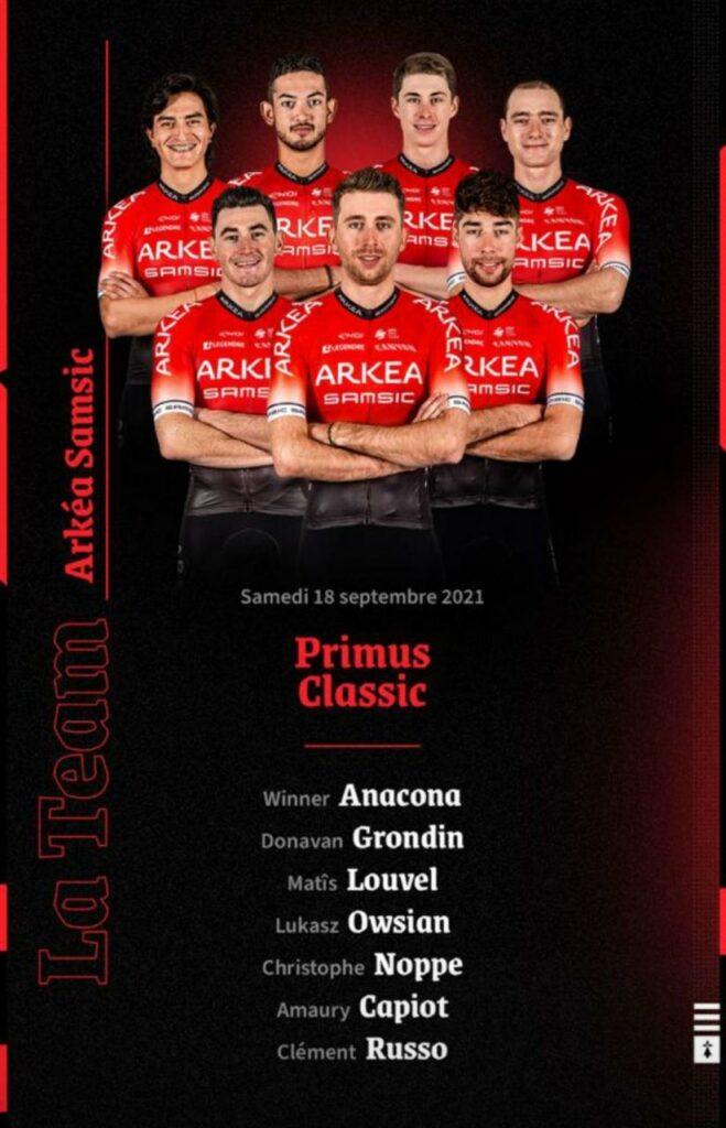 Anacona Arroyave confirmados Primus Classic 2021