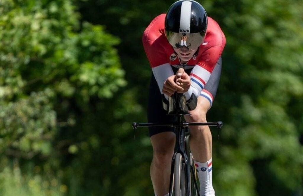 Gustav Wang oro crono Mundial 2021 Vargas Molano