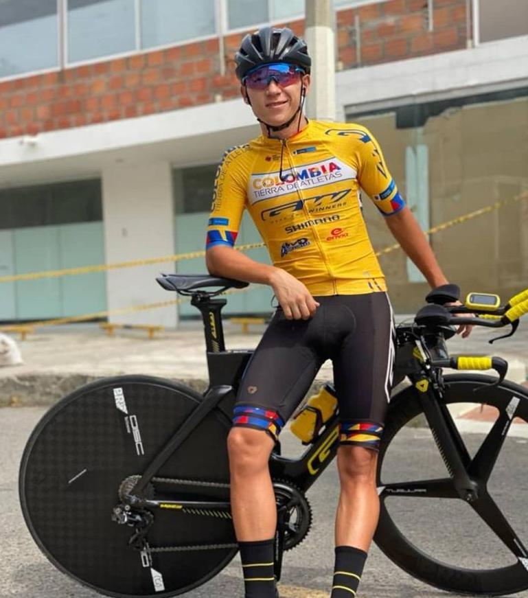 Didier Merchán habla tras ganar Vuelta Antioquia 2021