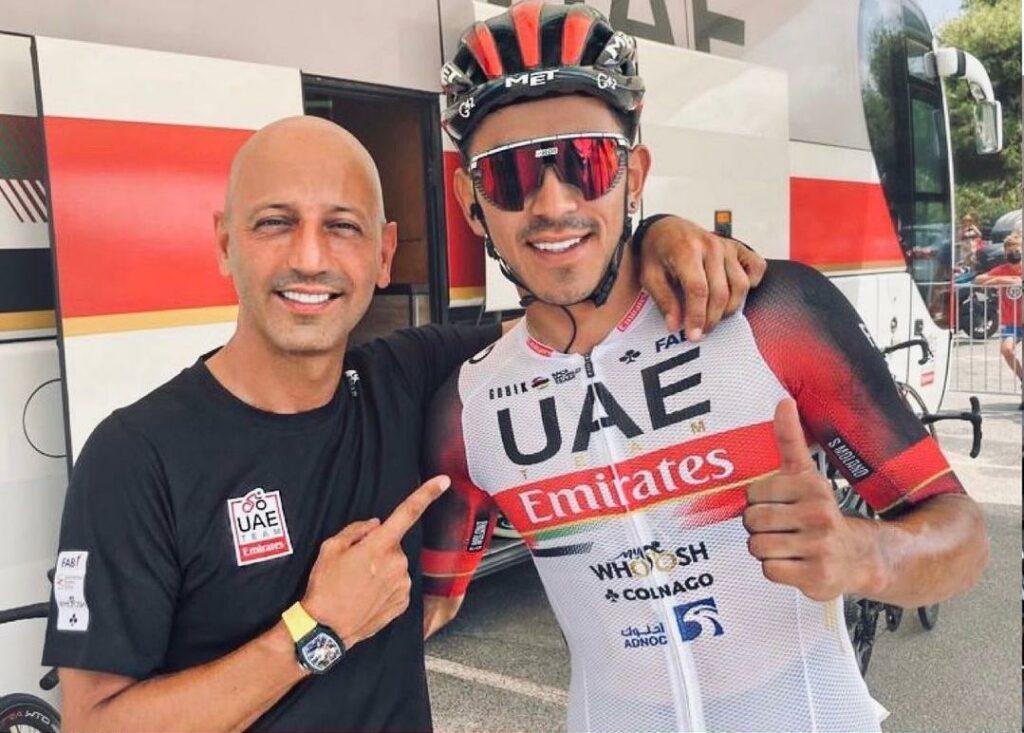Matxin mensaje Molano Richeze ganar etapa 1 Giro de Sicilia 2021