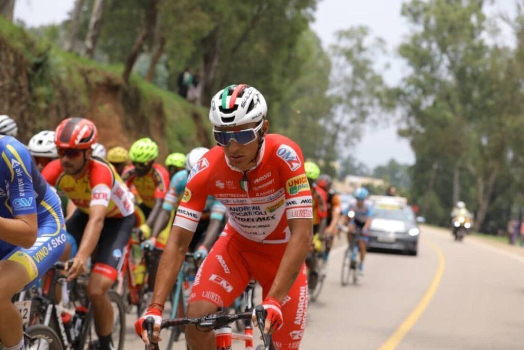 Trofeo Matteotti 2021 Jhonatan Restrepo segundo