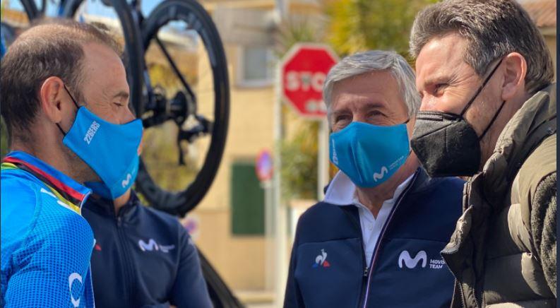 Alejandro Valverde es escogido como el mejor ciclista español de la década