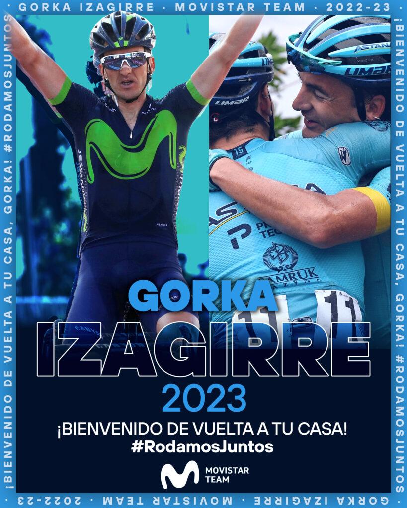 Miguel Ángel López no contaría con Gorka Izaguirre en el Astana