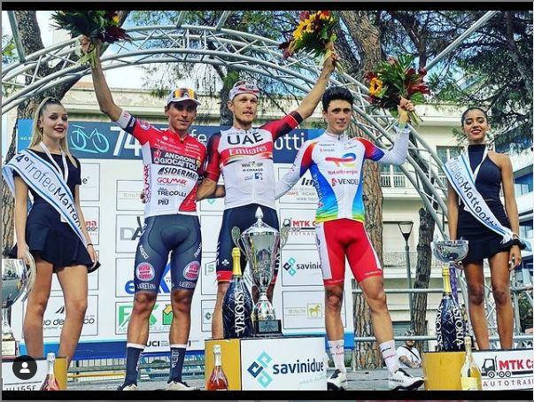 Giro del Veneto en Italia 2021, estos serán los 3 colombianos que estarán en la competencia