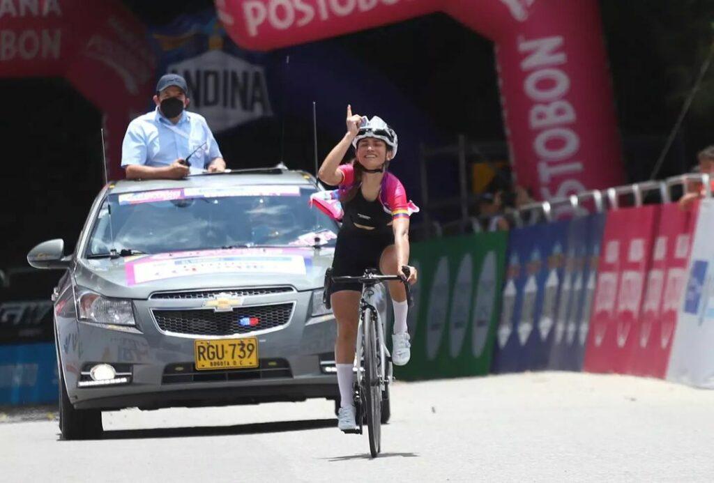 Vuelta a Colombia Femenina 2021 Lilibeth Chacón ganadora etapa 5