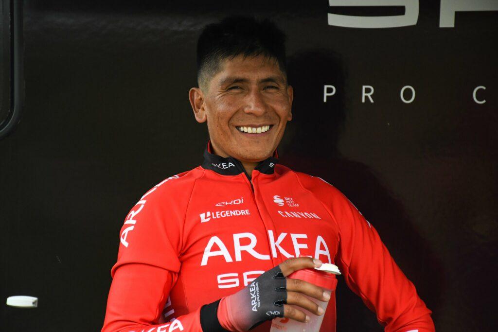 Nairo Quintana y el respaldo colombiano que le da el Arkea para el Giro de Emilia 2021